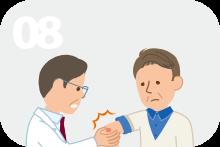 2回以上、髄膜炎、骨髄炎、蜂窩織炎、敗血症や、皮下膿瘍、臓器内膿瘍などの深部感染症にかかる。