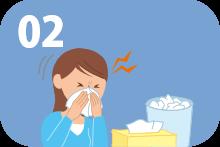 重症副鼻腔炎を繰り返す。